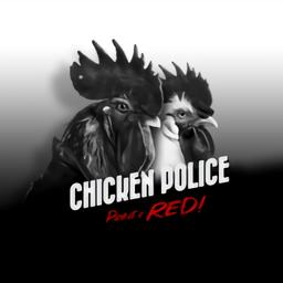 公鸡神探鲜血染红