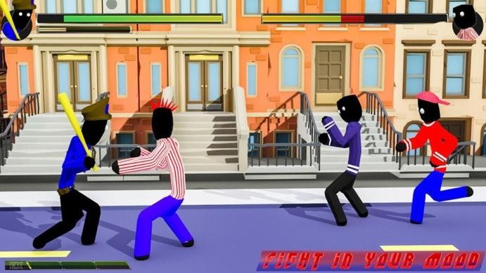火柴人街头对决游戏