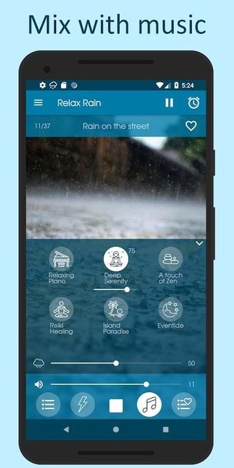 Relax Rain下雨的声音 v6.2.4 安卓版 2