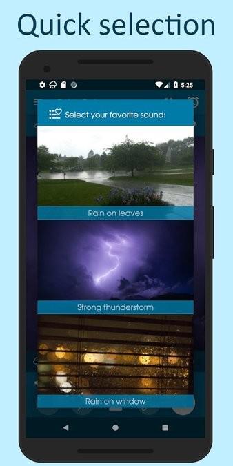 Relax Rain下雨的声音 v6.2.4 安卓版 0