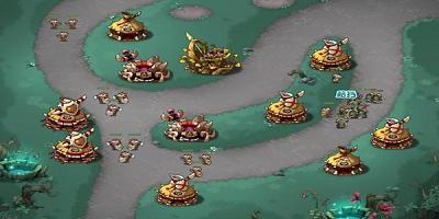 塔防守卫战类游戏
