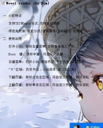 办公室摸鱼神器Novel reader下载