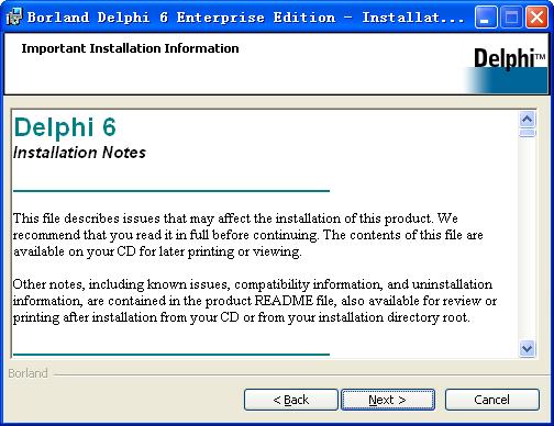 delphi6.0 免费