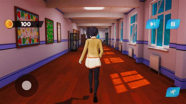 动漫高中樱花女孩生活3D模拟器 v1.1 安卓版 2