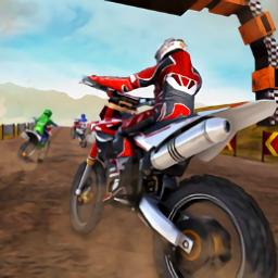越野摩托赛车游戏