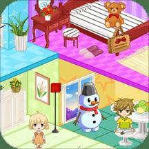 设计冰雪公主娃娃屋