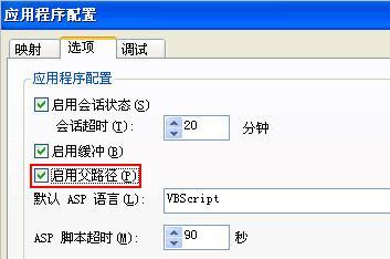 Active Server Pages 错误 'ASP 0131'解决方法2