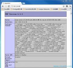 CentOS 6.3安装配置LAMP服务器(Linux+Apach